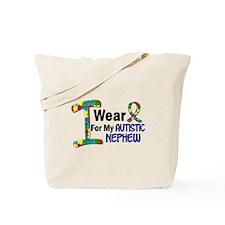 I Wear Puzzle Ribbon 21 (Nephew) Tote Bag