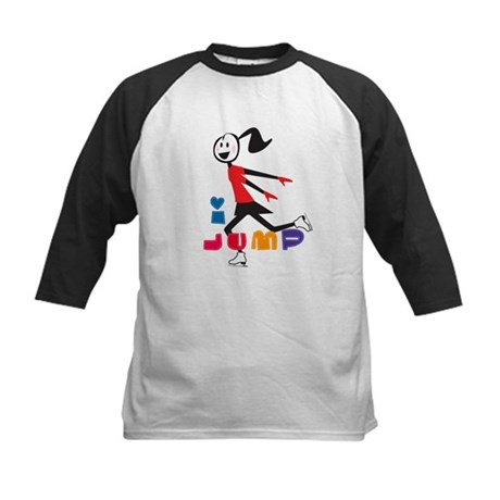 Skating Kid Kids Baseball Jersey
