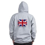 British flags Zip Hoodie