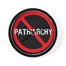 """No Patriarchy"" Wall Clock"