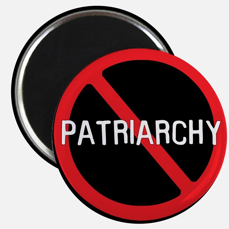 """No Patriarchy"" 2.25"" Magnet (10 pack)"