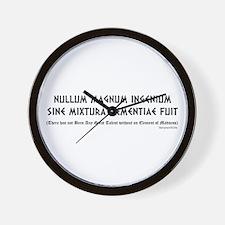 Nullum Magnum Wall Clock
