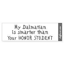 Dalmatian Bumper Bumper Sticker