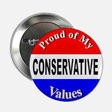 Proud Conservative Values Button