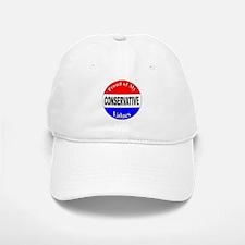 Proud Conservative Values Baseball Baseball Cap