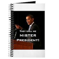 MISTER PRESIDENT Journal