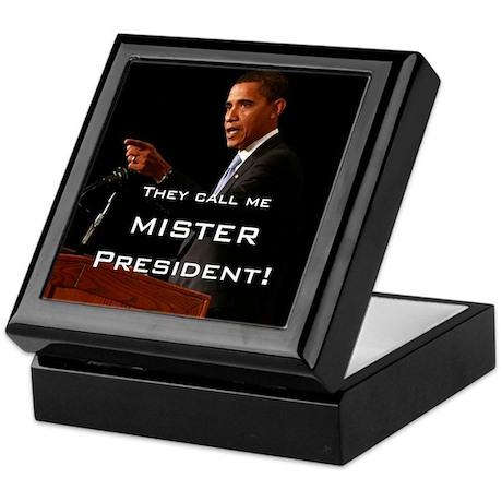 MISTER PRESIDENT Keepsake Box