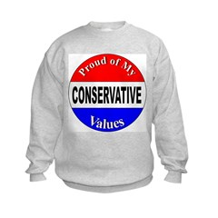 Proud Conservative Values Sweatshirt