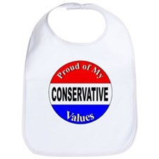 Proud Conservative Values Bib