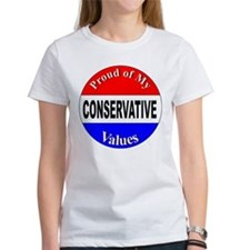 Proud Conservative Values Tee