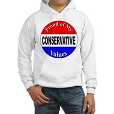 Proud Conservative Values Hoodie