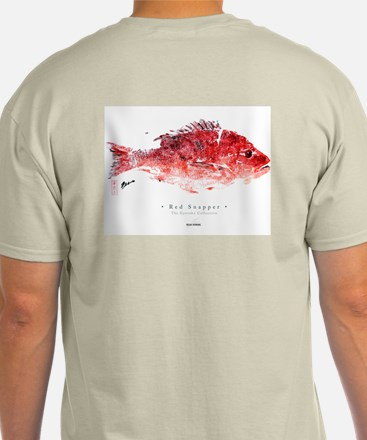 """RED SNAPPER"" GYOTAKU - Lt shirt"