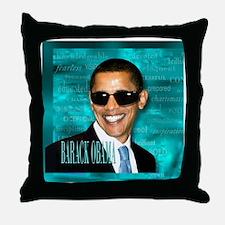 Obama Cool Throw Pillow