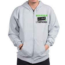 Mission Cure Lymphoma Zip Hoodie