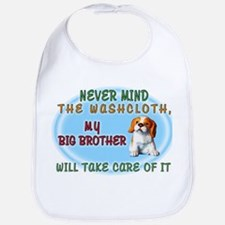 Never Mind for Boys Cotton Baby Bib