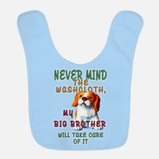 Never Mind for Boys Polyester Baby Bib
