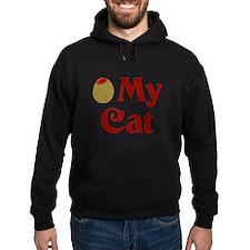 Olive My Cat Hoodie