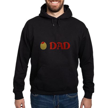 Olive Dad Hoodie (dark)