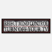 Funny NWO Mind Control Bumper Bumper Sticker