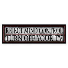 Funny NWO Mind Control Bumper Sticker