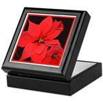 Poinsettia Keepsake Box