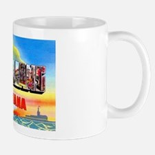 New Orleans Louisiana Greetings Mug