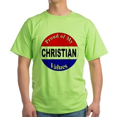 Proud Christian Values T-Shirt