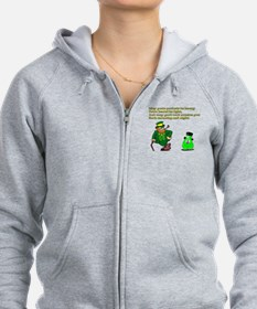 My Your Pockets By Heavy Zip Hoodie