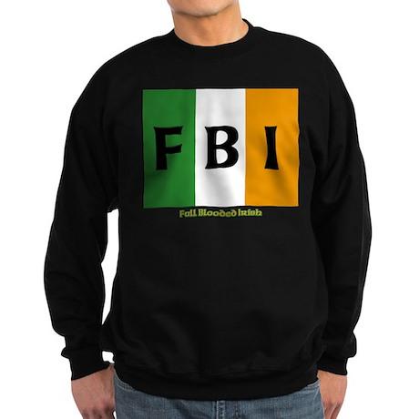 FBI Full Blooded Irish Sweatshirt (dark)