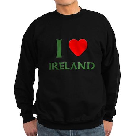 I Love Ireland Sweatshirt (dark)