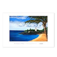 """Tranquil Bay"" Waimea -Postcards (Packag"