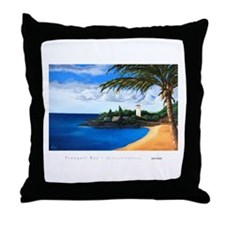 """Tranquil Bay"" - Throw Pillow"