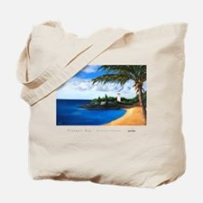 """""""Tranquil Bay"""" -beach tote bag"""