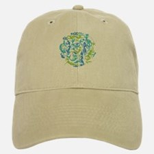 10 Mermaids Baseball Baseball Cap shown in Khaki