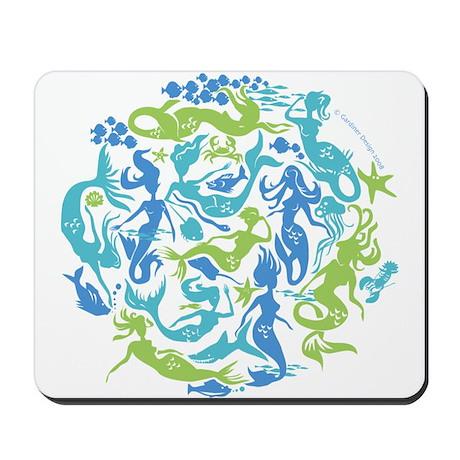 10 Mermaids Mousepad