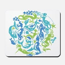 10 Mermaids Mousepad