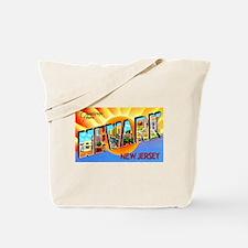 Newark New Jersey Greetings Tote Bag