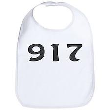917 Area Code Bib