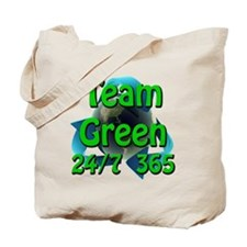 Team Green 24/7 365 Tote Bag