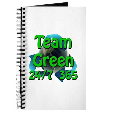 Team Green 24/7 365 Journal