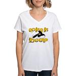Going In Deep Women's V-Neck T-Shirt