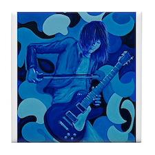Jimmy Page Tile Coaster