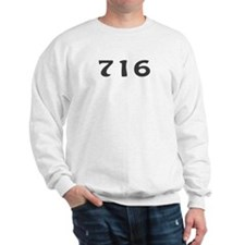 716 Area Code Sweatshirt