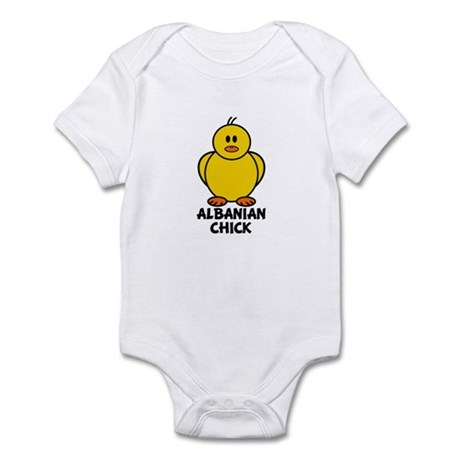 Albanian Chick Infant Bodysuit