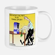 Call 911 or Technical Support? Mug