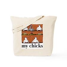 My Chicks (Coop) Tote Bag