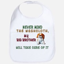 Never Mind for Boy or Girl Cotton Baby Bib