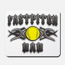 Fastpitch Tribal Dad Mousepad