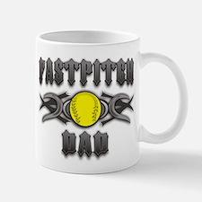 Fastpitch Tribal Dad Mug
