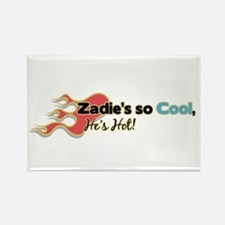 Zadie's so Cool Rectangle Magnet